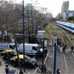 Avanzarán con las obras para que el ferrocarril Sarmiento corra en altura
