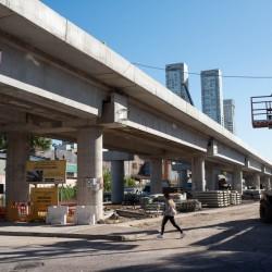 Vecinos harán una caminata por los bajo viaductos del tren San Martín