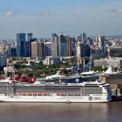 Transporte: proponen un rediseño del puerto de Buenos Aires para el turismo de cruceros