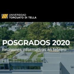 Posgrados ARQ 2020 l Últimas reuniones en febrero