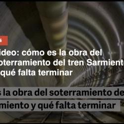 El Gobierno da marcha atrás y financiará el soterramiento del Sarmiento