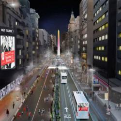 Libre tránsito: la Ciudad pone fin a la peatonalización de Avenida Corrientes de noche