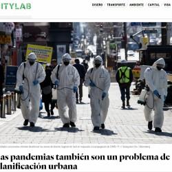 Las pandemias también son un problema de planificación urbana
