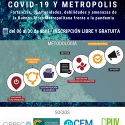 Foro Temático Covid 19 y Metrópolis en BAM 2.1