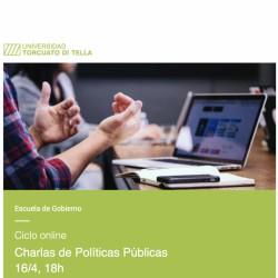 Ciclo online | Próximas charlas de Políticas Públicas
