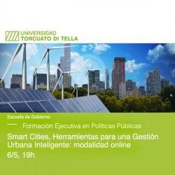 Smart Cities, Herramientas para una Gestión Urbana Inteligente: modalidad online