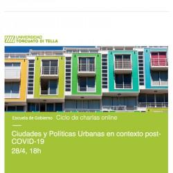 Ciudades y Políticas Urbanas en contexto post-COVID-19