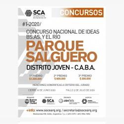 """Concurso Nacional de Ideas Buenos Aires y el Río """"Parque Salguero"""" Distrito Joven CABA"""