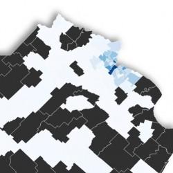 Uno por uno, los municipios bonarenses con más y menos infectados de coronavirus