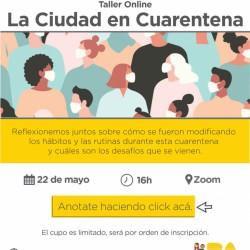 """Taller participativo """"La Ciudad en cuarentena"""""""