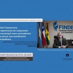 Webinar: Cooperación intermunicipal en regiones metropolitanas