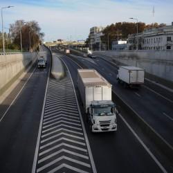 A un año del Paseo del Bajo, la autopista que demoró más de medio siglo y por la que ya se hicieron 5,7 millones de viajes