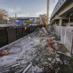Megaestadio Arena: frenan la cesión de terrenos aledaños