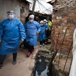 Se cuadruplicaron los casos de coronavirus en villas bonaerenses