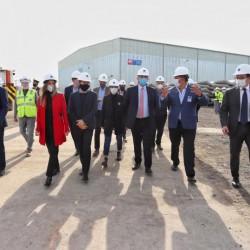 Se pusieron en marcha las obras de la tunelera Eva para la distribución de agua en el Conurbano Sur