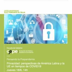 Webinar   Privacidad: Perspectivas de América Latina y la UE en tiempos de COVID-19
