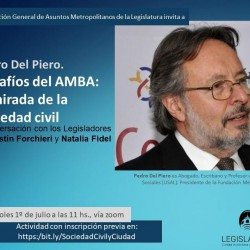 Desafíos para el AMBA, con Pedro Del Piero