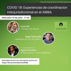 Covid-19 y coordinación metropolitana: la mirada de los Intendentes