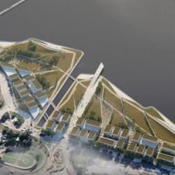 Concurso Nacional-Crearán un nuevo parque público en Costa Salguero con edificios para pymes