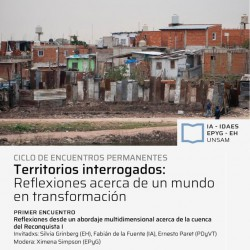 Ciclo: Territorios Interrogados sobre la cuenca Reconquista I - Primer encuentro