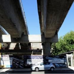 A un año de la inauguración del viaducto San Martín, aún no hay fecha para la apertura de las estaciones Villa Crespo y Paternal