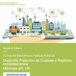 Universidad Torcuato Di Tella - Desarrollo Productivo de Ciudades y Regiones