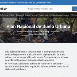 El Gobierno presenta el Plan Nacional de Suelo Urbano