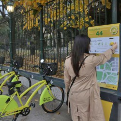 Récord: los viajes en bicicleta aumentaron 114% en la Ciudad