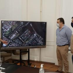 La AABE otorgó el uso de un predio a la municipalidad de San Fernando con el fin de realizar un parque costero público