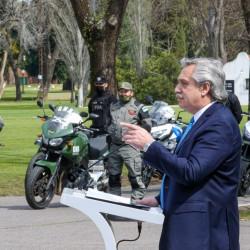 Fernández anunció el despliegue de 4000 policías en el AMBA y apuntó al rol de la Justicia