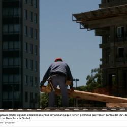 Código urbanístico: rechazo a cambios que impactarían en la planificación de la ciudad y la calidad de vida