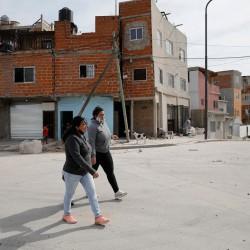 Ciudad: en la villa 20, abren calles para avanzar con su urbanización