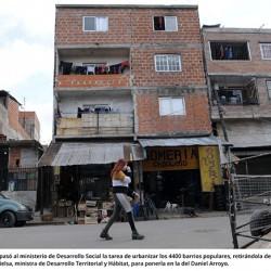 Traspaso en la urbanización de los barrios populares: la tarea quedó en manos de Daniel Arroyo