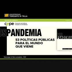Pospandemia, un libro que compila 53 propuestas de políticas públicas para el mundo que viene