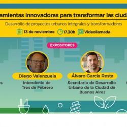Herramientas innovadoras para transformar ciudades