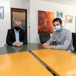 Ferraresi se reunió con el presidente del Instituto de Vivienda de la Ciudad de Buenos Aires