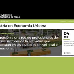 Maestria en Economia Urbana UTDT