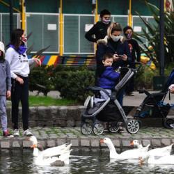 Advierten que la escasez de espacios verdes en la Ciudad de Buenos Aires aumenta el riesgo de contagio por coronavirus