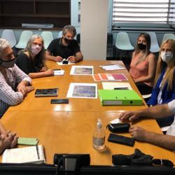 Zárate: Municipio participó de una reunión en el Ministerio de Hábitat de la Nación para continuar el mejoramiento de barrios