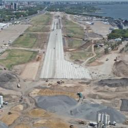 El Aeroparque recuperó su pista: construyeron la nueva en tiempo récord y en marzo podrían volver los vuelos