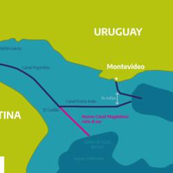 Trascendente paso para el transporte fluvial