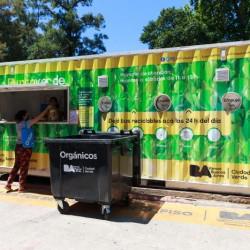Los Puntos Verdes recibirán residuos orgánicos