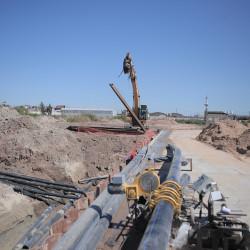 Avanzan las obras en el Parque Industrial Curtidor Lanús