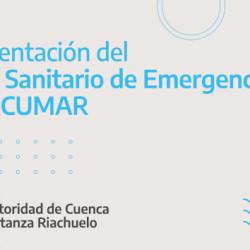 ACUMAR presentó el nuevo Plan Sanitario de Emergencia