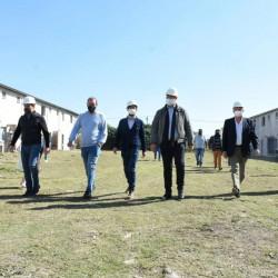 Un convenio para construir nuevas viviendas en Florencio Varela