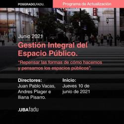 Programa de Actualización Profesional a distancia en Gestión Integral del Espacio Público