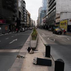 El microcentro, vacío y desolado: cuáles son los proyectos para reconvertir oficinas en viviendas