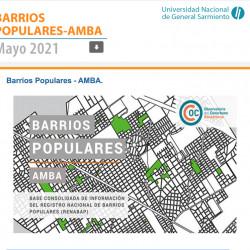 Observatorio del Conurbano Bonaerense - Barrios populares del AMBA