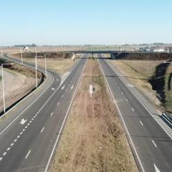 Inauguran la extensión de la autopista de la Ruta nacional 8