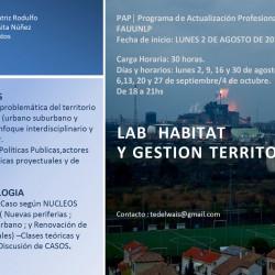 LAB Habitat y Gestion Territorial -  FAU UNLP